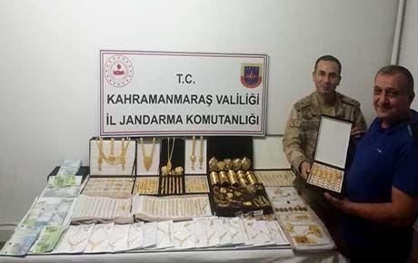 13 kilo altın gasp eden maskeli hırsızlar yakalandı