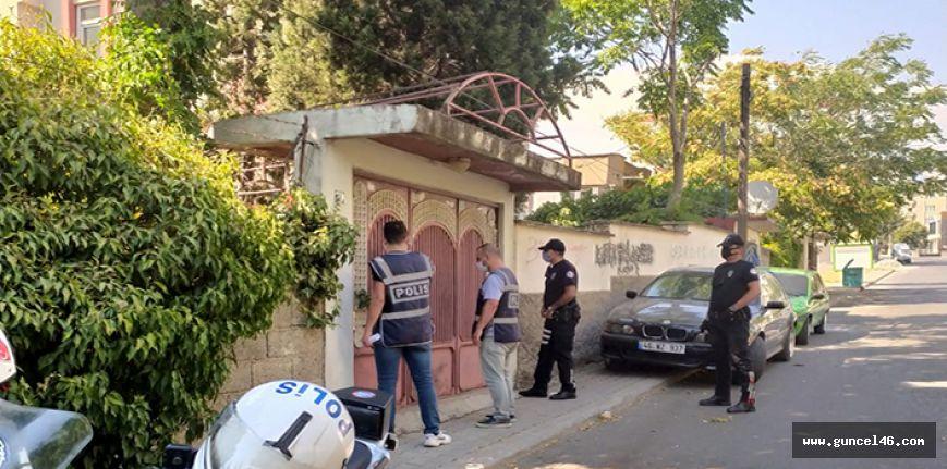 Kahramanmaraş'ta aranan 43 şüpheliden 30'u tutuklandı