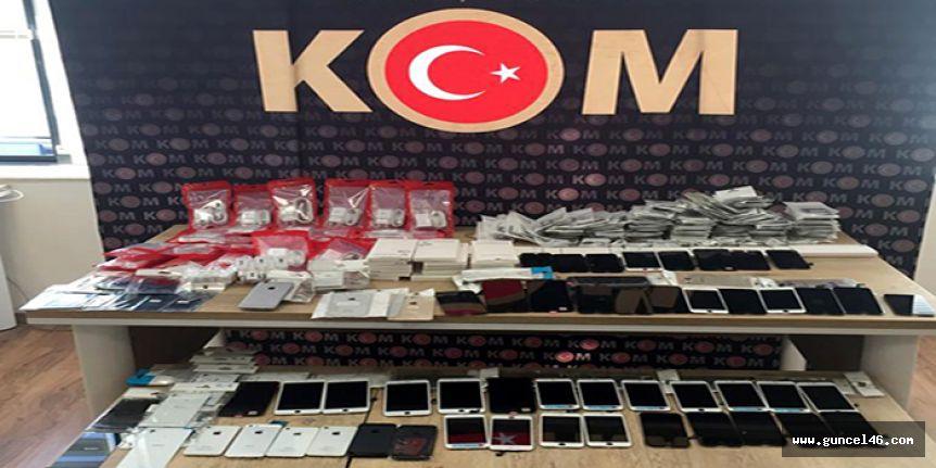 Kahramanmaraş'ta kaçakçılık operasyonları