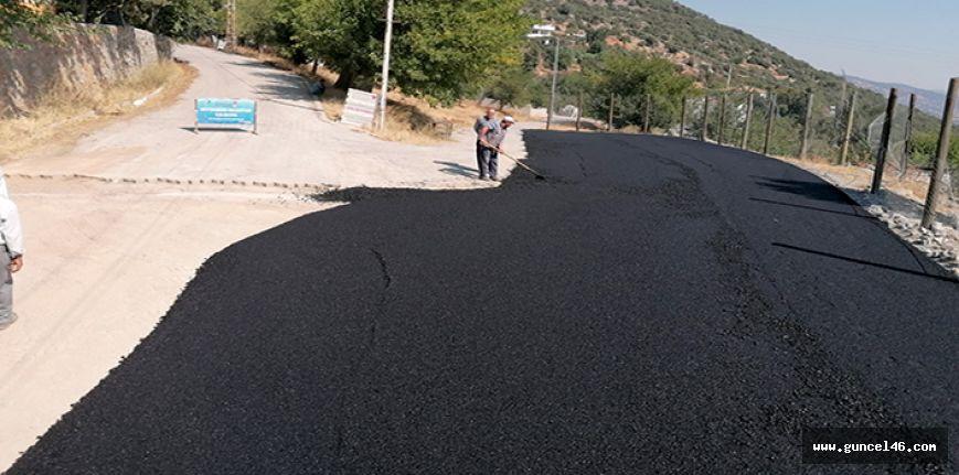 Yeşilyurt Mahallesine asfalt