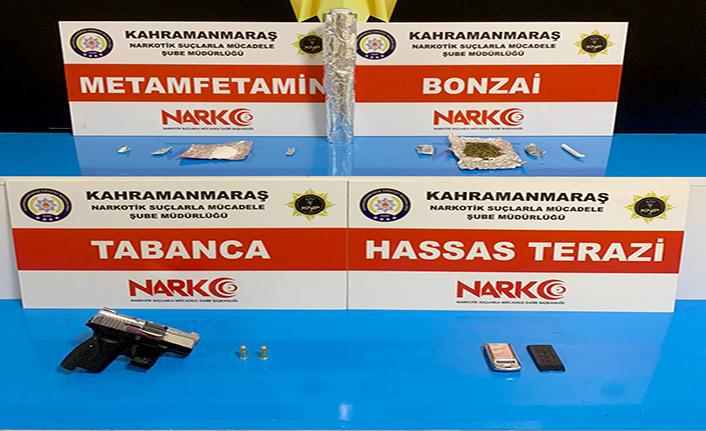 Kahramanmaraş'ta 5 Torbacı tutuklandı