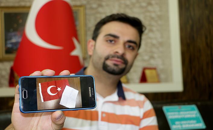 Azerbaycan'a destek için nişan yüzüğünü gönderdi