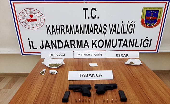 Kahramanmaraş'ta 6 ayrı operasyon