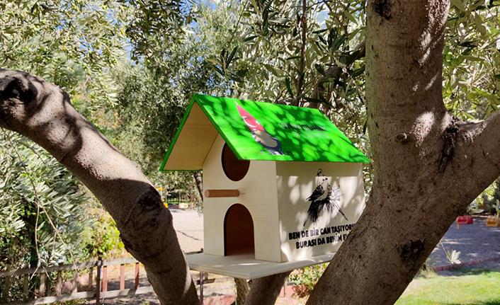 Onikişubat Belediyesinden sokak hayvanlarına ev