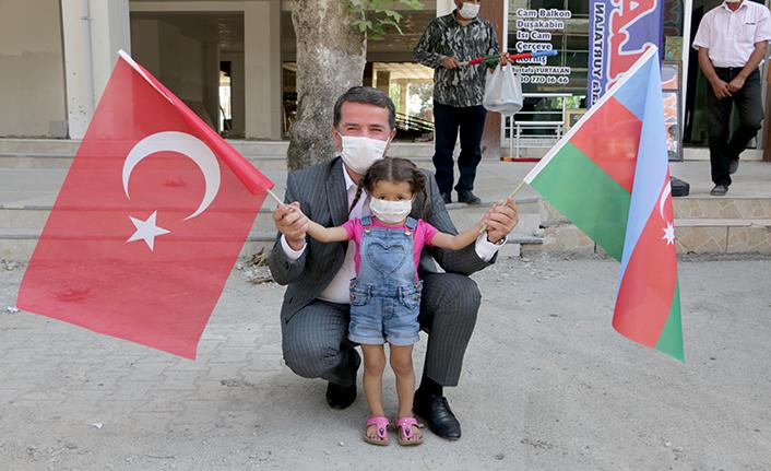 Türkoğlu'ndan Azerbaycan'a destek