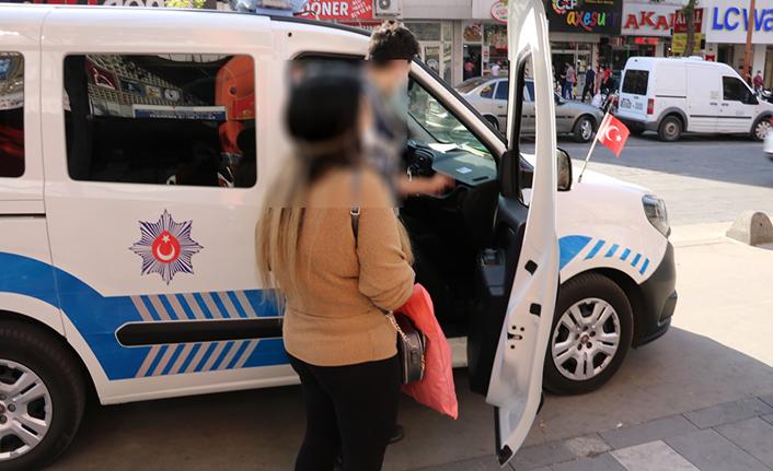 Maskesiz yakalanan kadına ceza