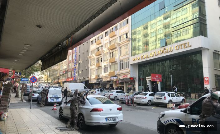 Kahramanmaraş'ta çatışma 2 polis yaralı