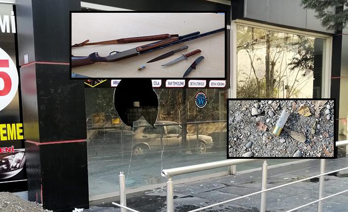 Oto galeriye silahlı saldırı