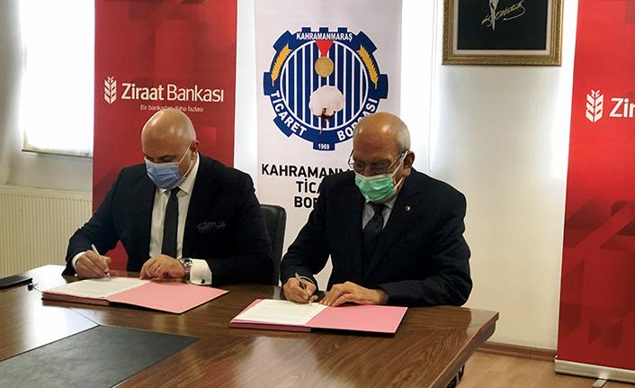 Ticaret Borsası ile Ziraat Bankası arasında protokol