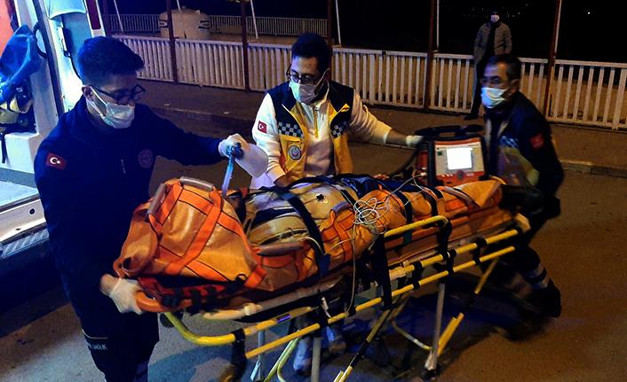 Trafik kazası: 1 ölü 1 yaralı