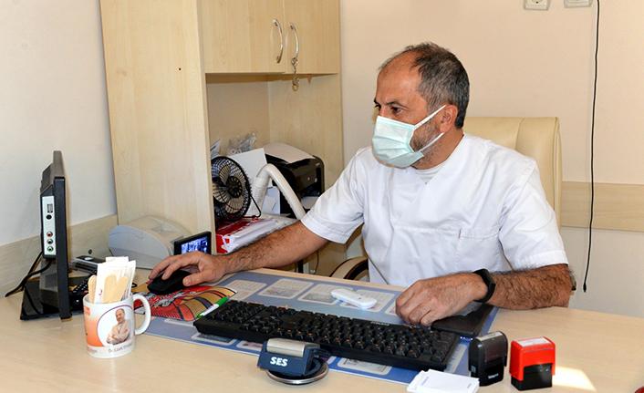 Doktoru tehdit edince, 3 gün sağlık merkezinde çalıştı