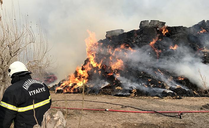 Çiftlikte yangın