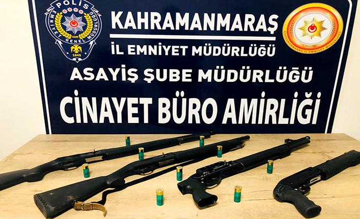 24 şüpheliden 27 silah ele geçirildi