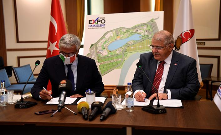Mahçiçek EXPO 2023 için İtalya ile anlaşma imzaladı