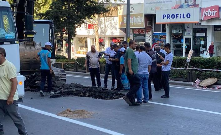 Azerbaycan Bulvarının bir kısmı trafiğe kapandı
