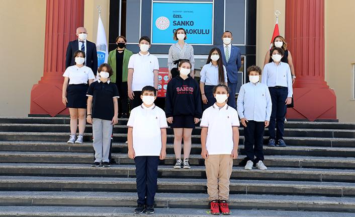 SANKO öğrencileri Türkiye finallerinde yarışacak