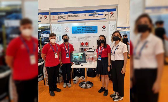 Türkiye İkincisi SANKO öğrencileri ödüllerini aldı