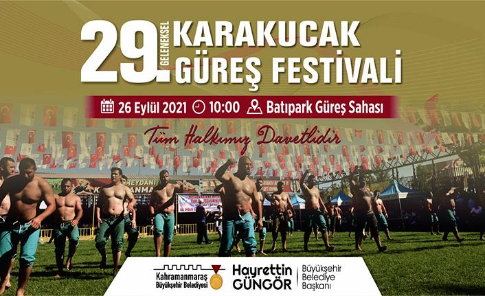 Geleneksel Karakucak Güreş Festivali