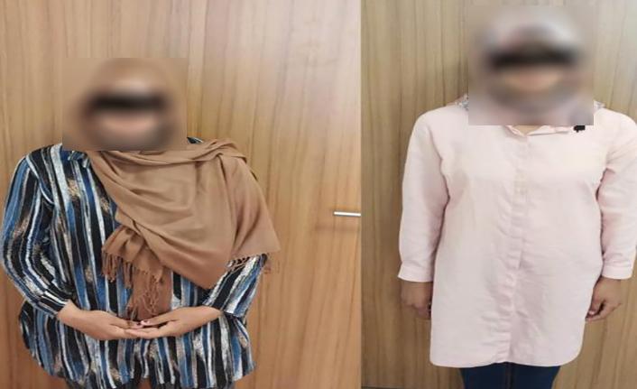 Gezici kadın hırsızlar Kahramanmaraş'ta yakalandı