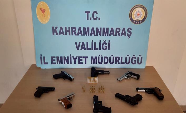 14 şüpheliden 14 silah ele geçirildi