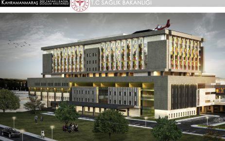 300 yataklı hastane 2022'de hizmete girecek