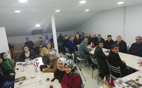 """AFŞİNDER, """"SÜNNET VE EDEP"""" KONULU SÖYLEŞİ YAPTI"""