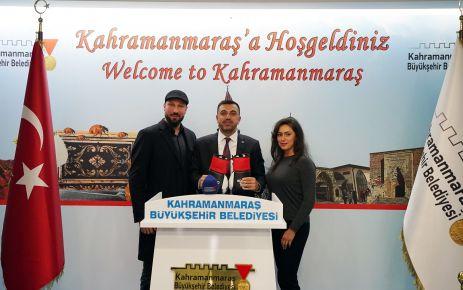 ALMANYA BOKS ŞAMPİYONU CİNKARA'DAN KILIÇ'A ZİYARET