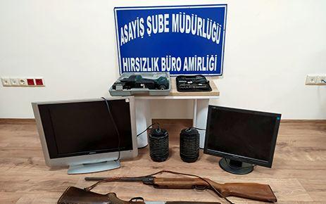 Bağ evinden hırsızlık yapan 2 kişi tutuklandı