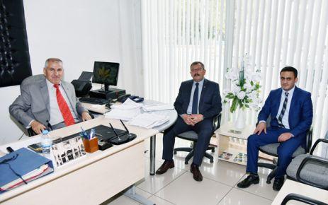 BAŞKAN AYDIN'DAN, PTT MÜDÜRLÜĞÜNE 177. YIL ZİYARETİ