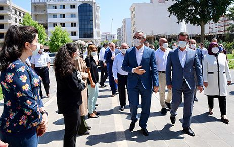 Başkan Güngör'den Türkoğlu ziyareti
