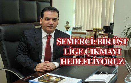 BELEDİYESPOR'UN HEDEFİ BİR ÜST LİG