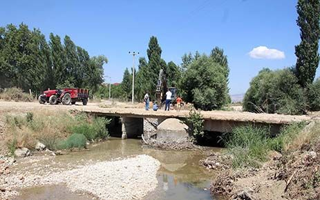 Bozlar Köprüsü çalışmaları başladı