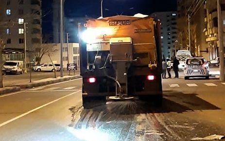 Büyükşehir'den kar önlemi