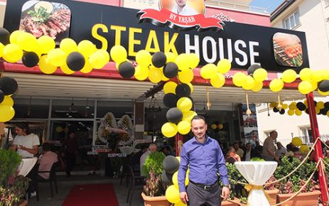 BY YAŞAR STEAK HOUSE AÇILDI