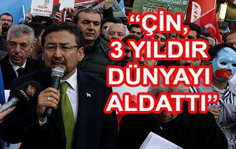 Doğu Türkistan'daki zulüm kınandı