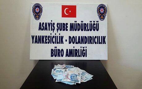 Dolandırıcılardan 65 bin lirayı polis kurtardı