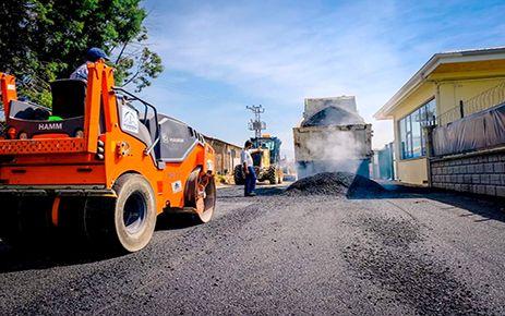 Dulkadiroğlu'nda asfalt ve kilit parke çalışmaları