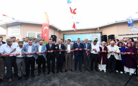 DULKADİROĞLU'NDAN BİR SOSYAL TESİSTE OSMANBEY'E