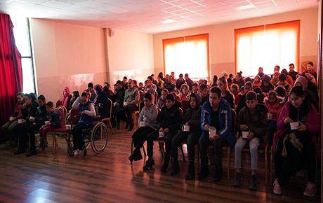 Engelli çocukların sinema heyecanı