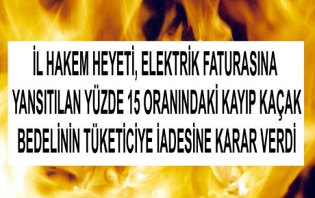 """KAÇAK VE KAYIP BEDELİNE """"RET"""""""
