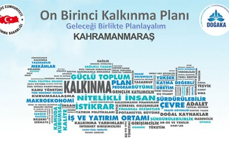 KAHRAMANMARAŞ ON BİRİNCİ KALKINMA PLANI İSTİŞARE TOPLANTISI