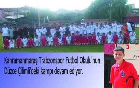KAHRAMANMARAŞ TRABZONSPOR FUTBOL OKULU'NUN KAMPI SÜRÜYOR