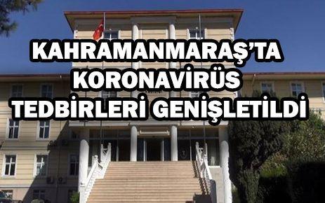 Kahramanmaraş'a giriş ve çıkışlar kapatıldı