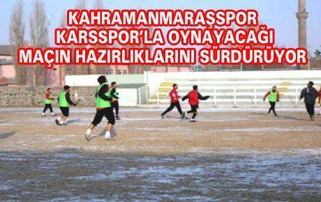 KAHRAMANMARAŞSPOR'DA HEDEF 3 PUAN