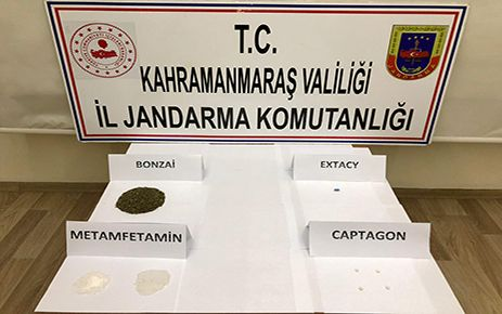 Kahramanmaraş'ta 3 ayrı uyuşturucu operasyonu