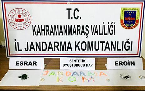 Kahramanmaraş'ta 5 ayrı uyuşturucu operasyonu