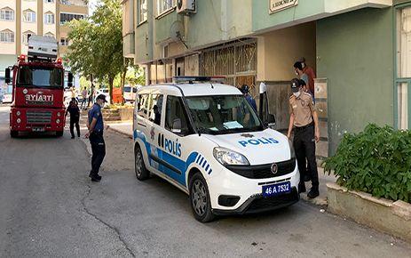 Kahramanmaraş'ta ailevi sorunları olan kadın polisi alarma geçirdi