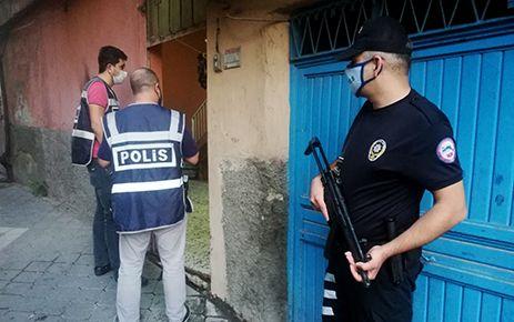 Kahramanmaraş'ta aranan 61 kişi yakalandı, 40'ı tutuklandı