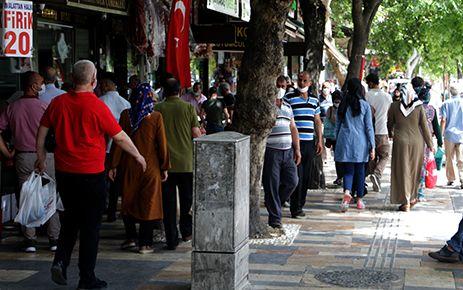 Kahramanmaraş'ta bayram kalabalığı