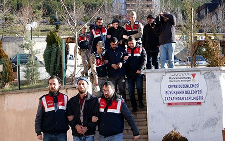 Kahramanmaraş'ta DEAŞ ve El Nursa operasyonu